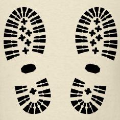 Shoes,-Shoe-Print,-Hiking-T-Shirts